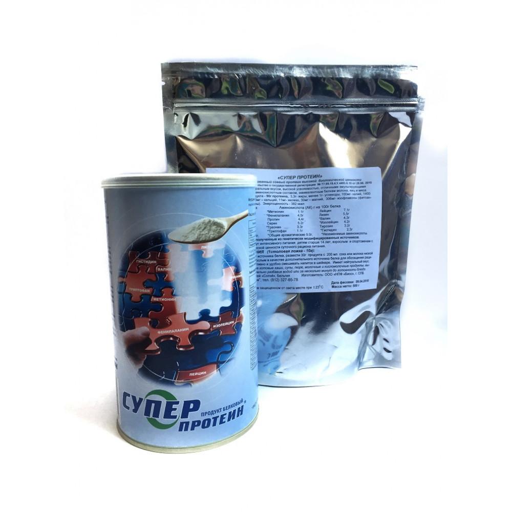 Супер Протеин (СУПРО 760) изолированный соевый белок - пакет 500 гр.
